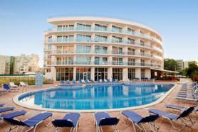 Bulharský hotel Calypso s bazénem