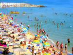 Albena - pláž nedalekého letoviska Balčik