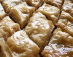 Bulharská sladká baklava