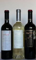 Láhve bulharského vína
