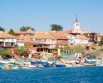 Část bulharského města Nesebar
