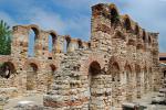 Nesebar v Bulharsku a staré město